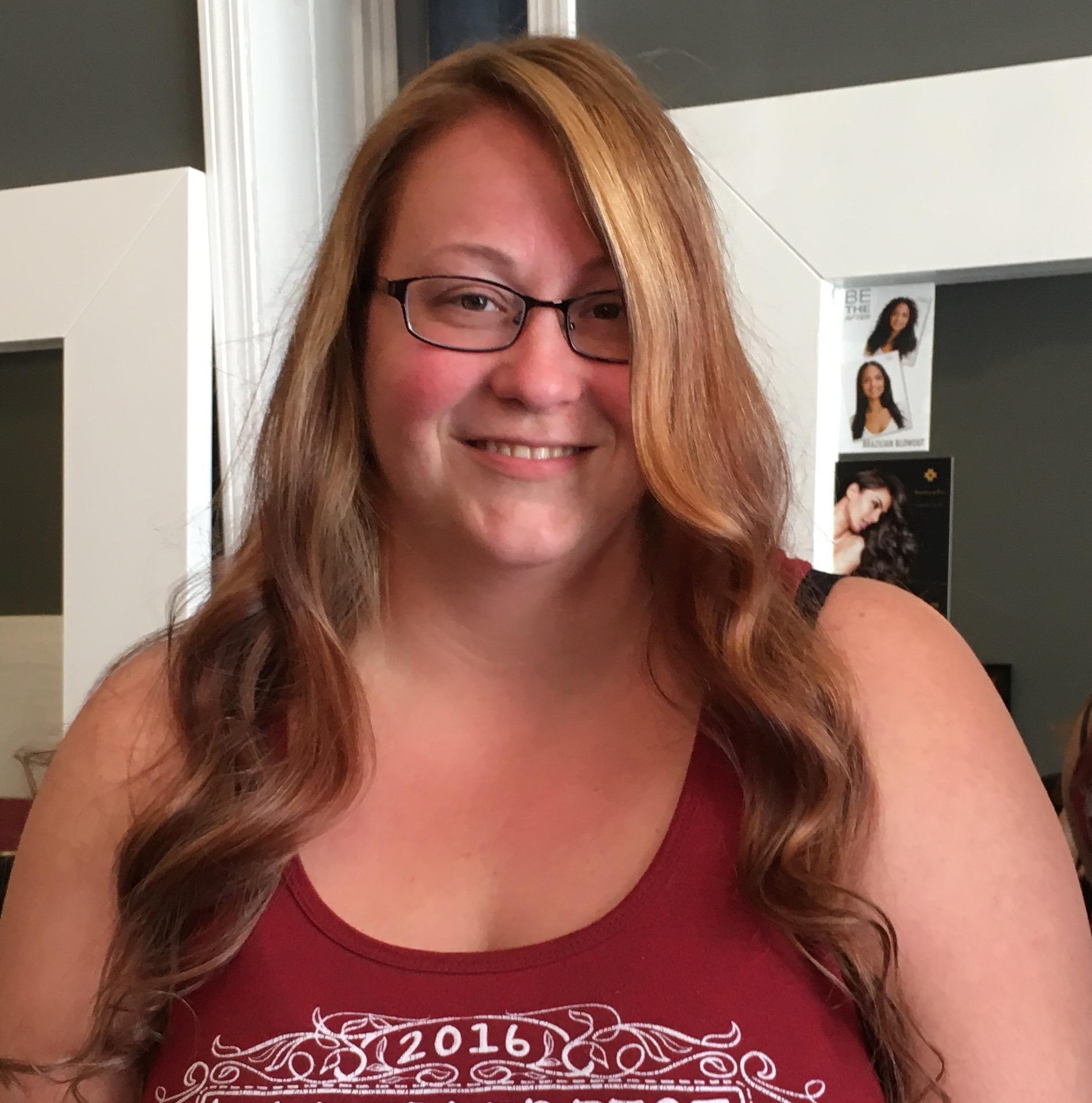 Balayage Long Hair Styling