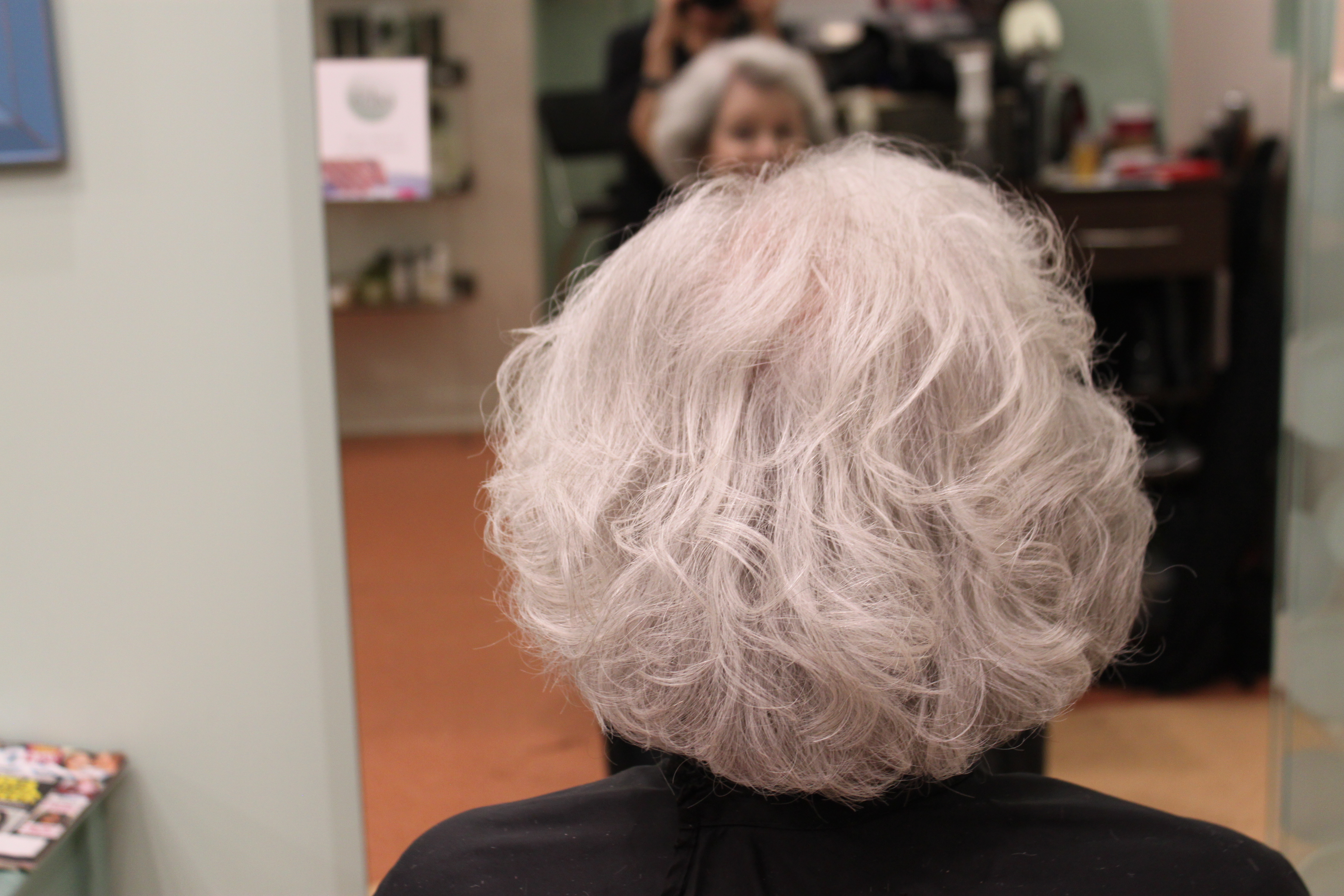 Permanent Wave On Naturally Grey Hair