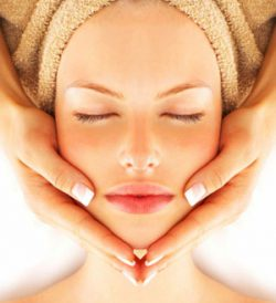 Facials with certified organic products