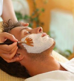 Men's mask, Chicago spa services